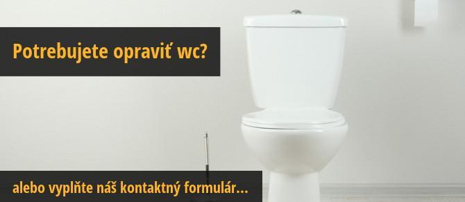 Oprava wc cena